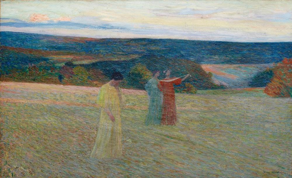 Henri Martin Üç, Kanvas Tablo, Henri Martin, kanvas tablo, canvas print sales
