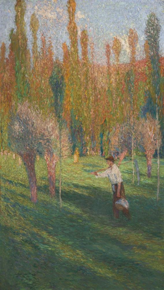 Henri Martin Moissonneur, Canvas, Henri Martin, kanvas tablo, canvas print sales