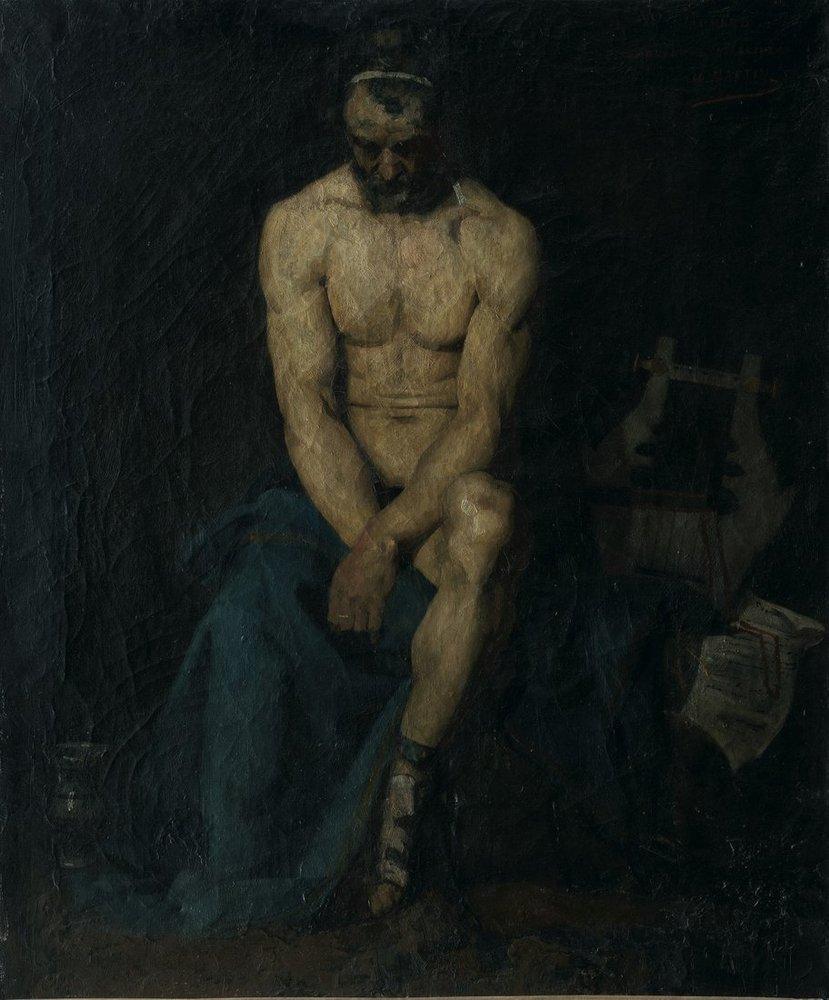 Henri Martin Orpheus, Kanvas Tablo, Henri Martin, kanvas tablo, canvas print sales
