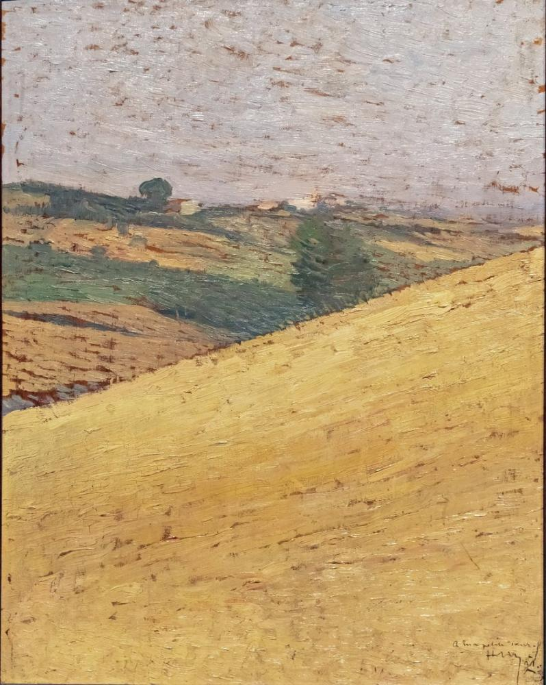 Henri Martin Lauragais Manzara, Kanvas Tablo, Henri Martin, kanvas tablo, canvas print sales