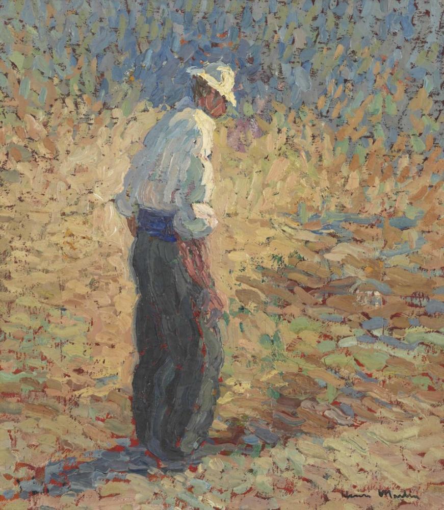 Henri Martin Çiftçi, Kanvas Tablo, Henri Martin, kanvas tablo, canvas print sales