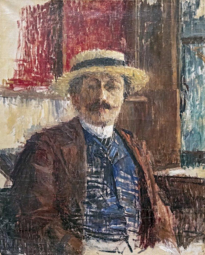 Henri Martin Portre Albert Sarraut, Kanvas Tablo, Henri Martin, kanvas tablo, canvas print sales