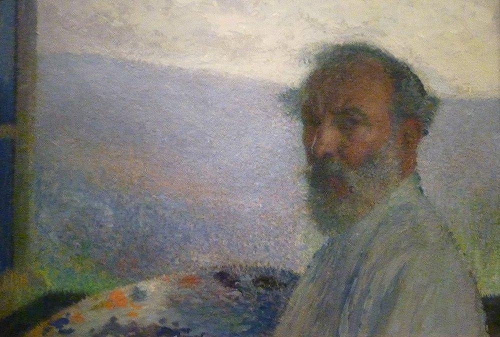 Henri Martin Portrait Of The Artist, Canvas, Henri Martin, kanvas tablo, canvas print sales