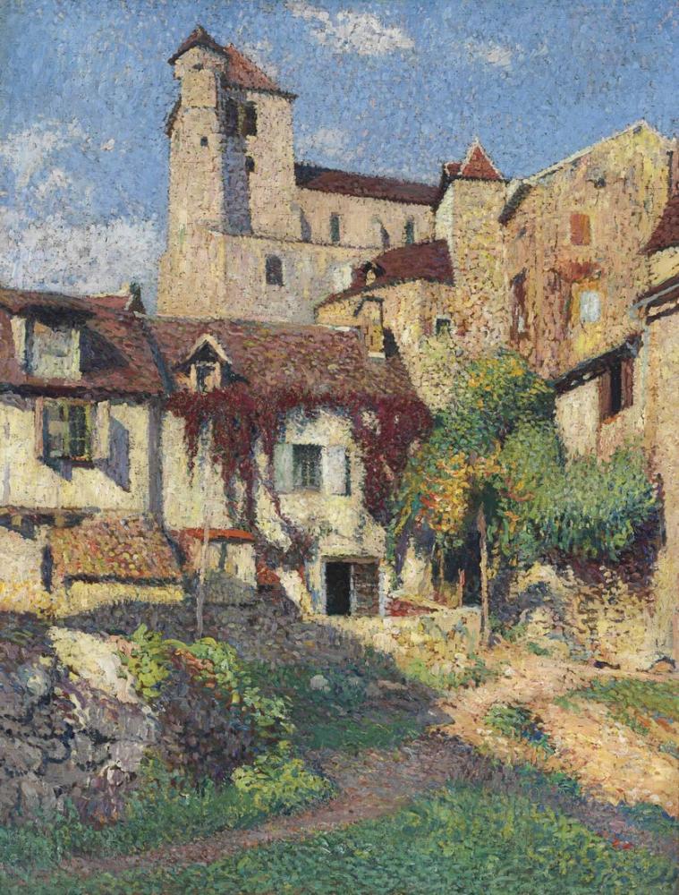 Henri Martin Saint Cirq Soleil, Kanvas Tablo, Henri Martin, kanvas tablo, canvas print sales