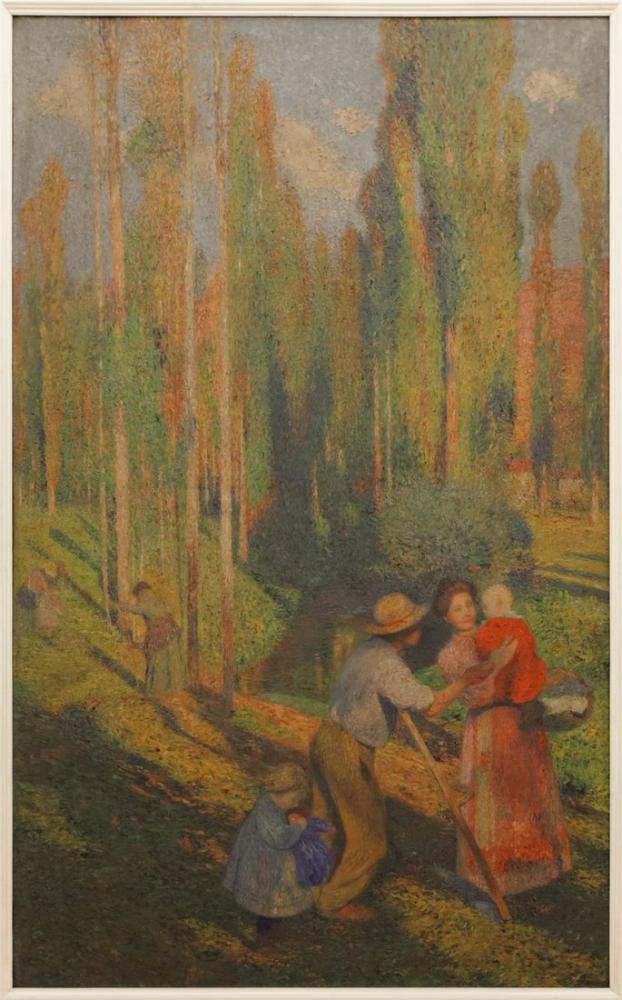 Henri Martin Düğün Salonu Aile, Kanvas Tablo, Henri Martin, kanvas tablo, canvas print sales