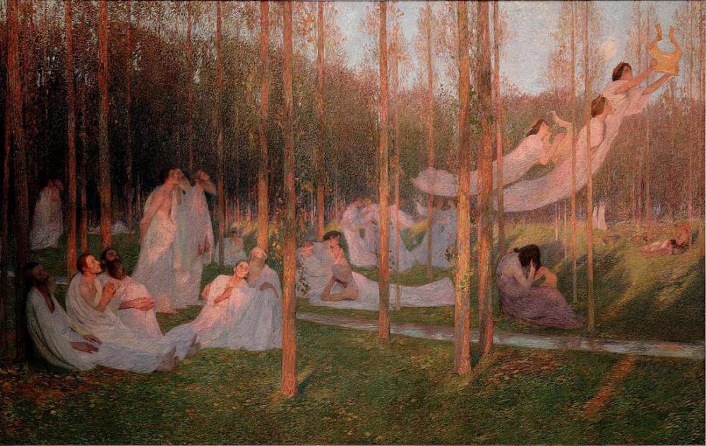Henri Martin Huzur, Kanvas Tablo, Henri Martin, kanvas tablo, canvas print sales