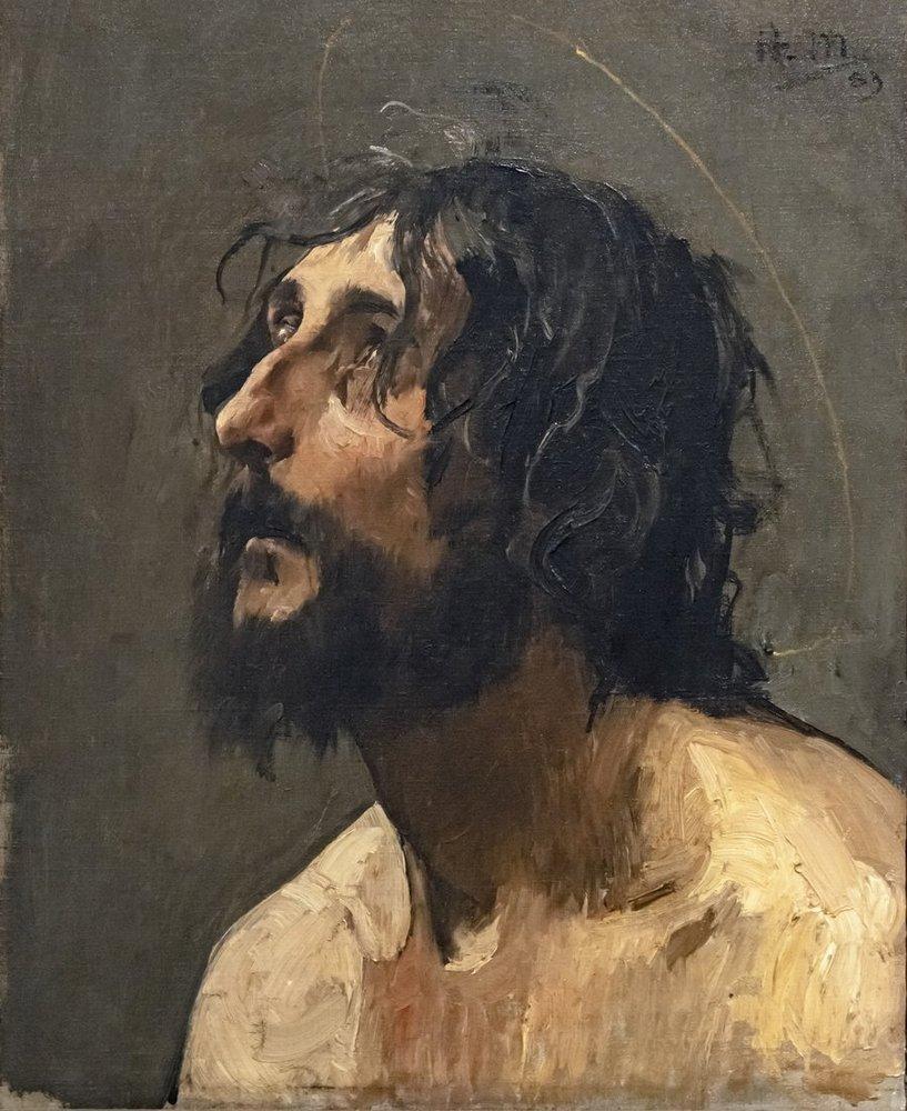 Henri Martin Autoportrait En Saint Jean Baptiste, Canvas, Henri Martin, kanvas tablo, canvas print sales