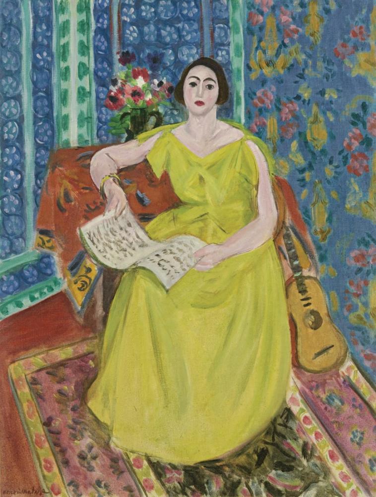 Henri Matisse Cobbler Karısı, Kanvas Tablo, Henri Matisse, kanvas tablo, canvas print sales
