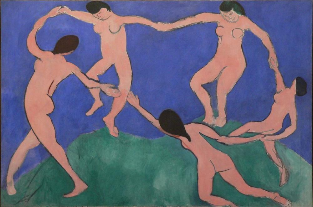 Henri Matisse Dans II, Kanvas Tablo, Henri Matisse, kanvas tablo, canvas print sales