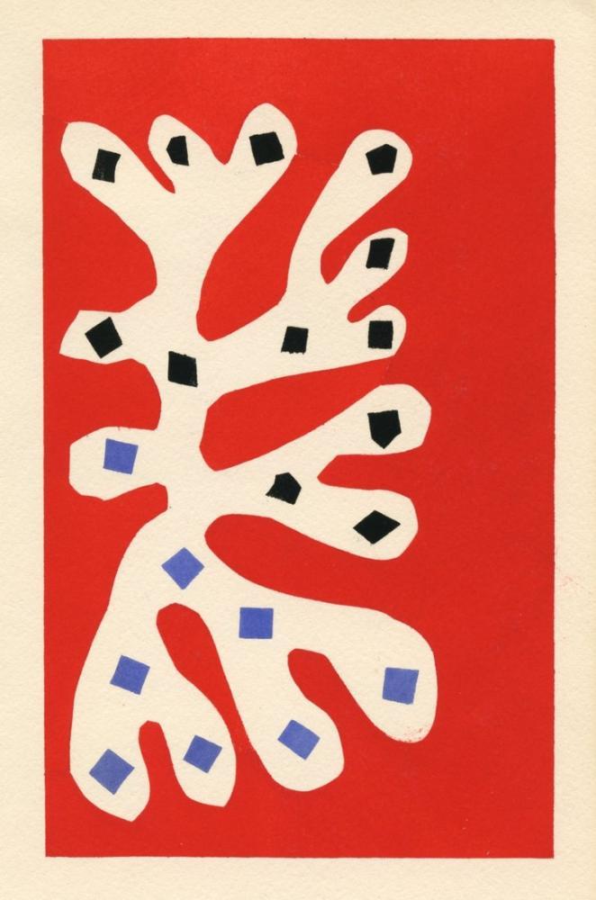 Henri Matisse Beyaz Yosun Kırmızı Arka Plan, Kanvas Tablo, Henri Matisse, kanvas tablo, canvas print sales