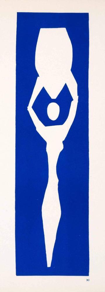 Henri Matisse Amphoralı Kadın, Kanvas Tablo, Henri Matisse, kanvas tablo, canvas print sales