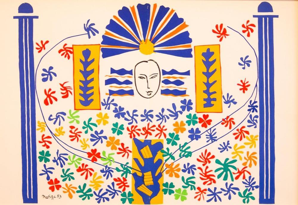 Henri Matisse Apollon, Kanvas Tablo, Henri Matisse, kanvas tablo, canvas print sales