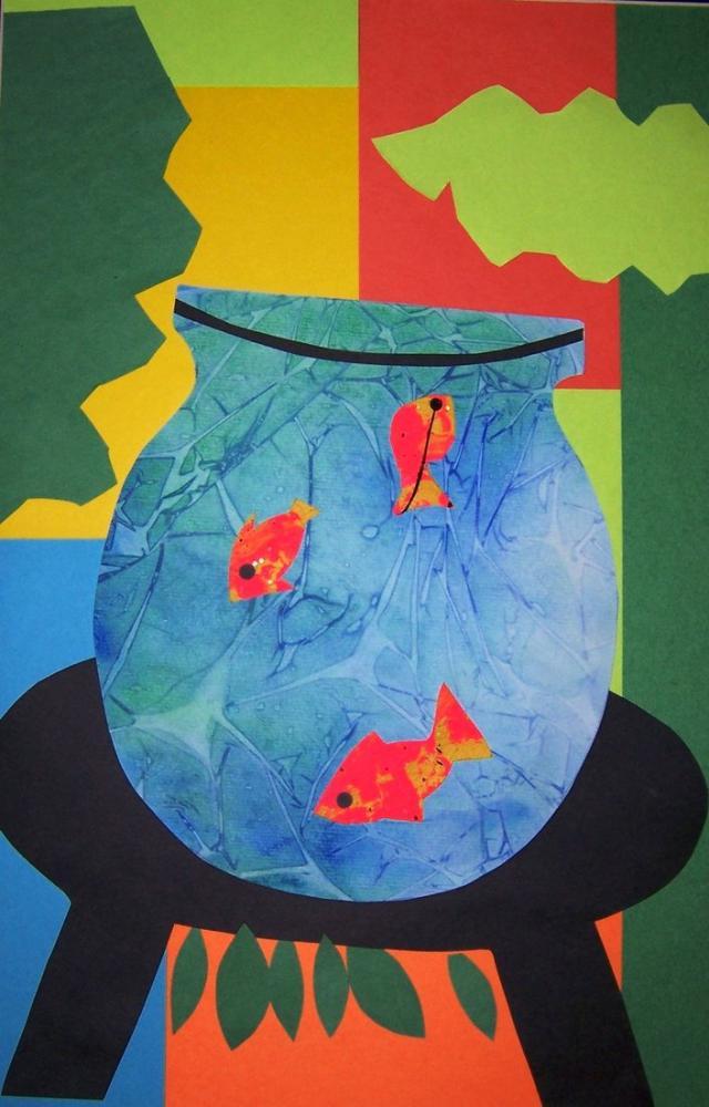 Henri Matisse Akvaryum Balığı Kase, Kanvas Tablo, Henri Matisse, kanvas tablo, canvas print sales