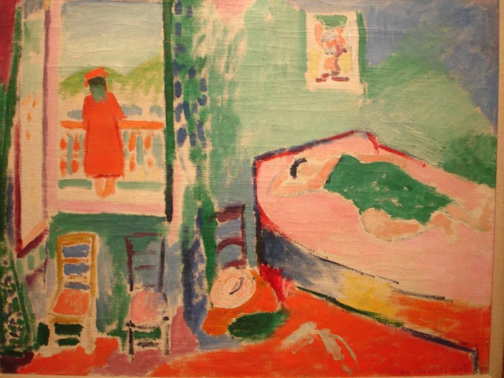 Henri Matisse Collioure İçinde, Kanvas Tablo, Henri Matisse, kanvas tablo, canvas print sales