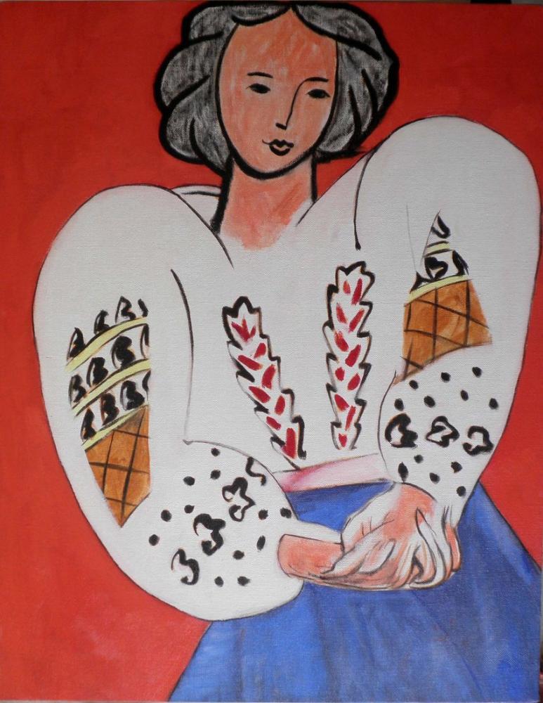 Henri Matisse Romen Bluz, Figür, Henri Matisse