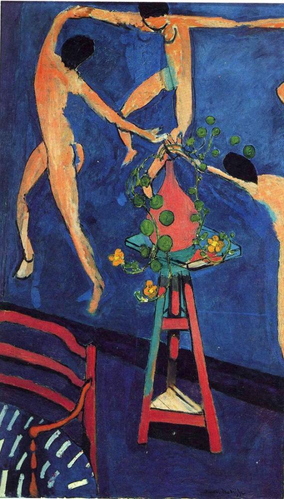 Henri Matisse Dansla Nasturtiums II, Kanvas Tablo, Henri Matisse, kanvas tablo, canvas print sales