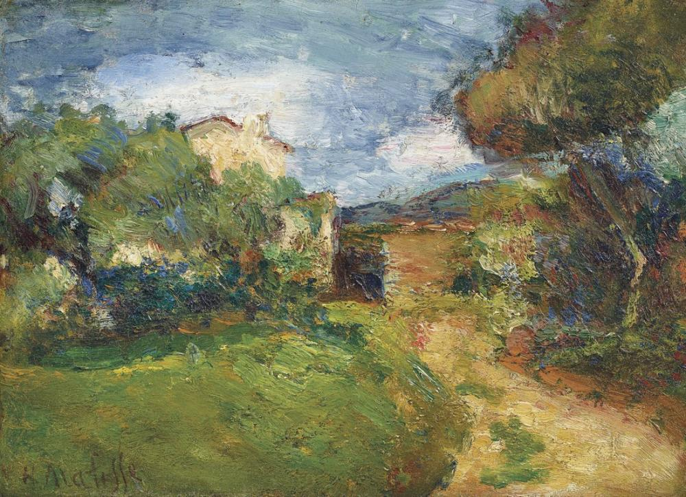 Henri Matisse Small Corsican Landscape