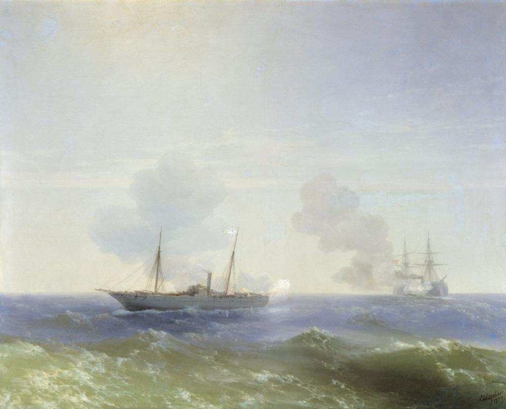 Ivan Aivazovsky Vesta, Canvas, Ivan Aivazovsky, kanvas tablo, canvas print sales