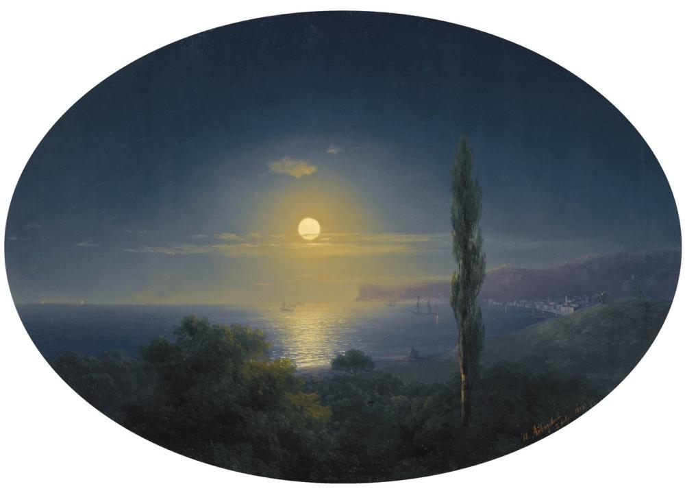 Ivan Aivazovsky Crimea, Canvas, Ivan Aivazovsky, kanvas tablo, canvas print sales