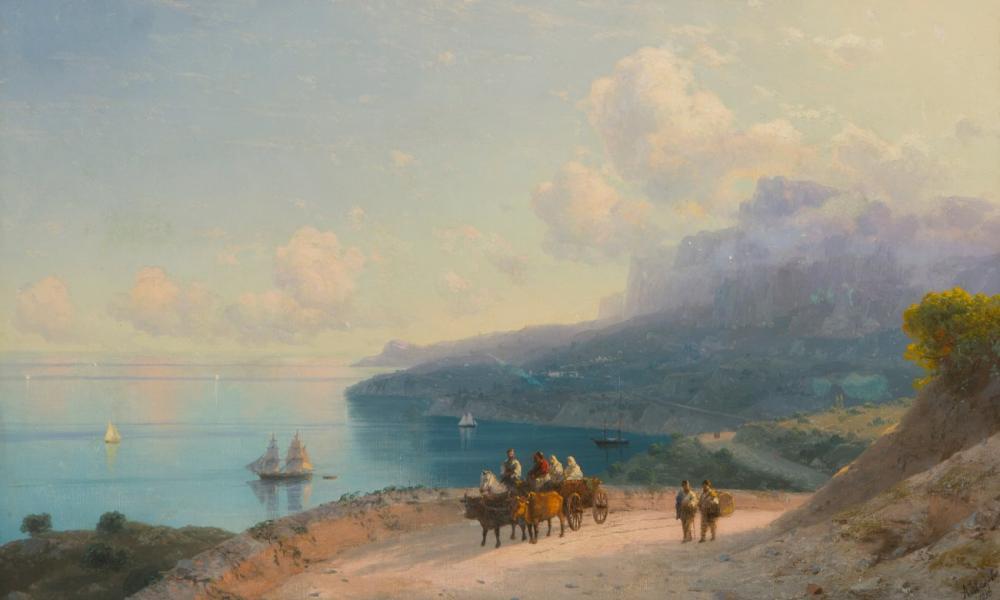 İvan Aivazovski Körfez, Kanvas Tablo, Ivan Aivazovsky, kanvas tablo, canvas print sales
