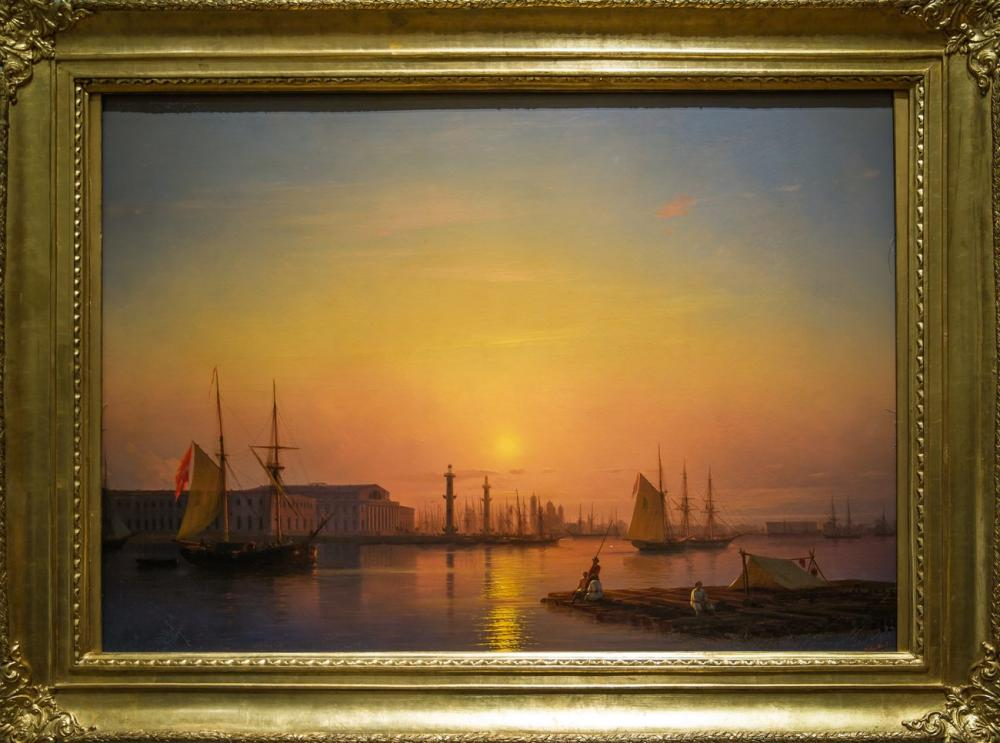 Ivan Aivazovsky Saint Petersburg, Canvas, Ivan Aivazovsky, kanvas tablo, canvas print sales