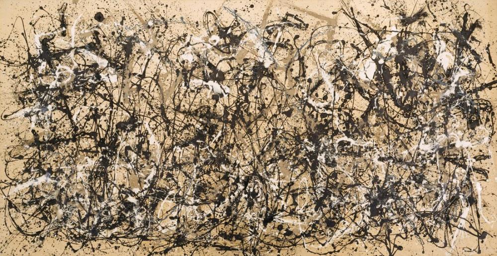 Jackson Pollock Sonbahar Ritmi, Kanvas Tablo, Jackson Pollock, kanvas tablo, canvas print sales