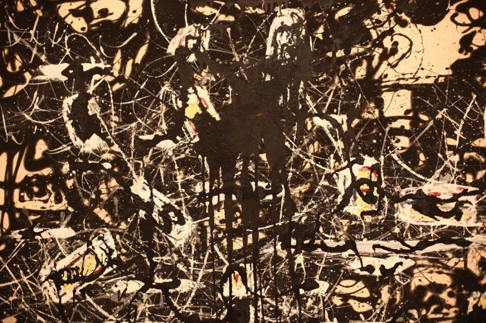 Jackson Pollock Kör Noktalar, Kanvas Tablo, Jackson Pollock, kanvas tablo, canvas print sales