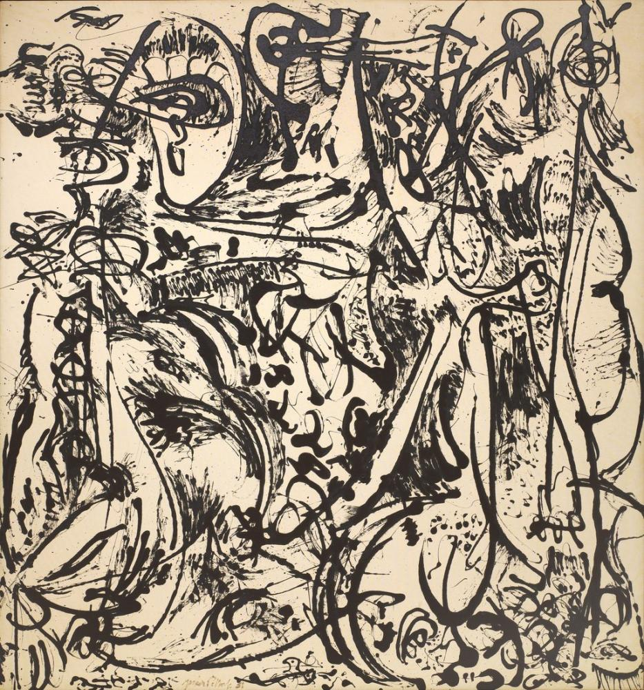 Jackson Pollock Echo Number 25, Canvas, Jackson Pollock, kanvas tablo, canvas print sales