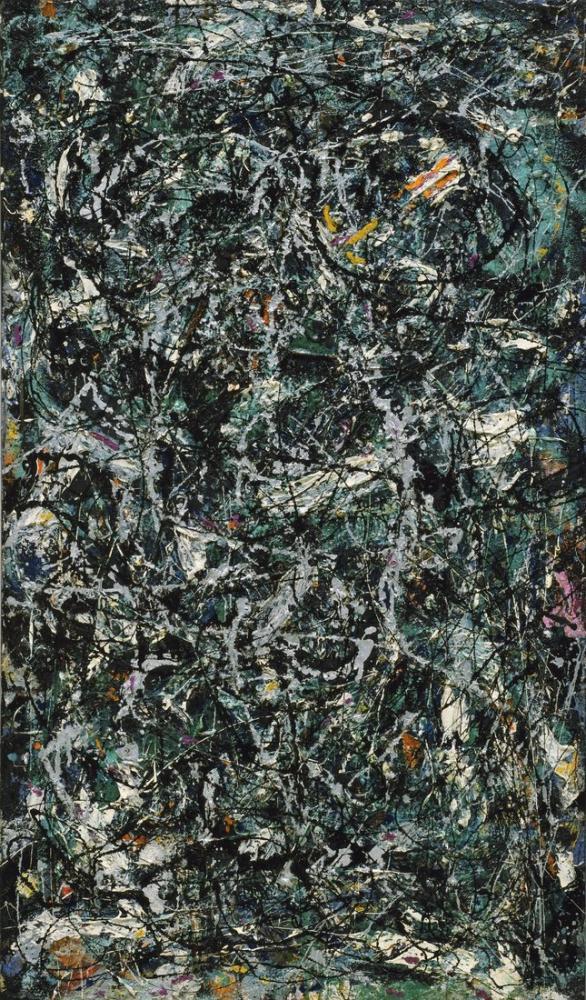 Jackson Pollock Full Fathom Five, Canvas, Jackson Pollock, kanvas tablo, canvas print sales