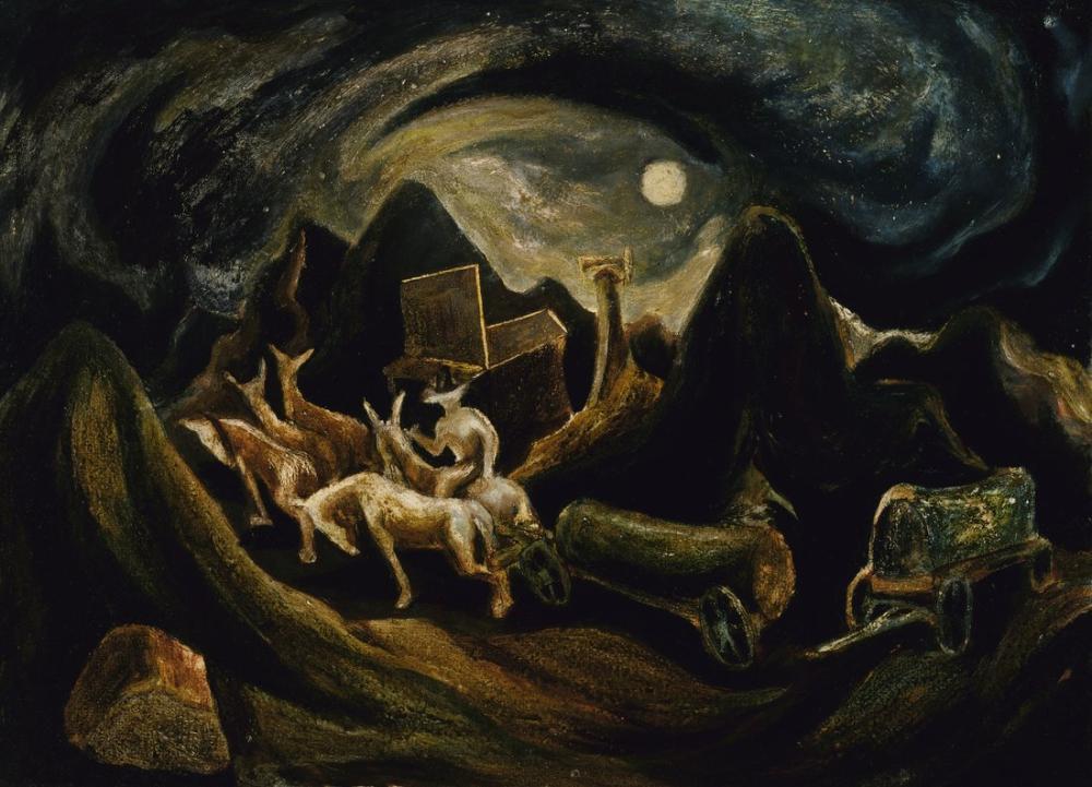 Jackson Pollock Batıya Gitmek, Kanvas Tablo, Jackson Pollock, kanvas tablo, canvas print sales