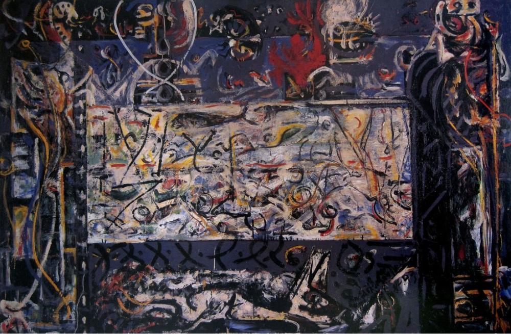 Jackson Pollock Sır Muhafızları, Kanvas Tablo, Jackson Pollock, kanvas tablo, canvas print sales