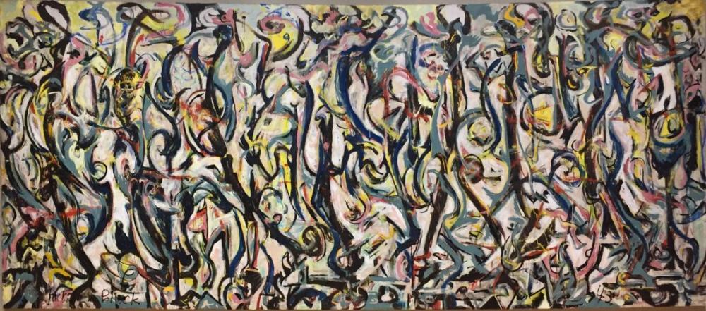 Jackson Pollock Duvar Resmi, Kanvas Tablo, Jackson Pollock, kanvas tablo, canvas print sales