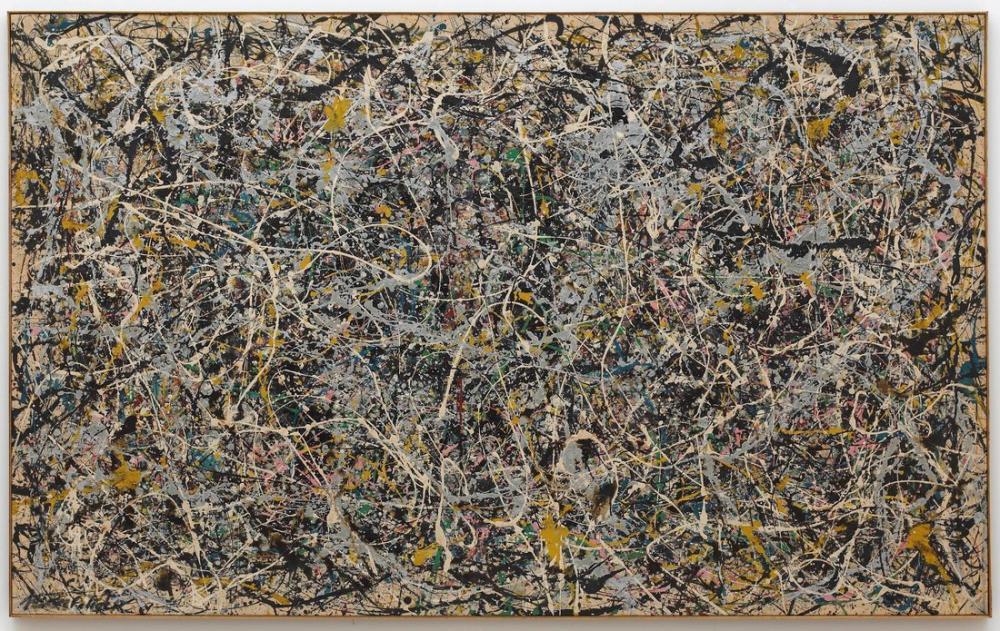 Jackson Pollock No 1, Kanvas Tablo, Jackson Pollock, kanvas tablo, canvas print sales