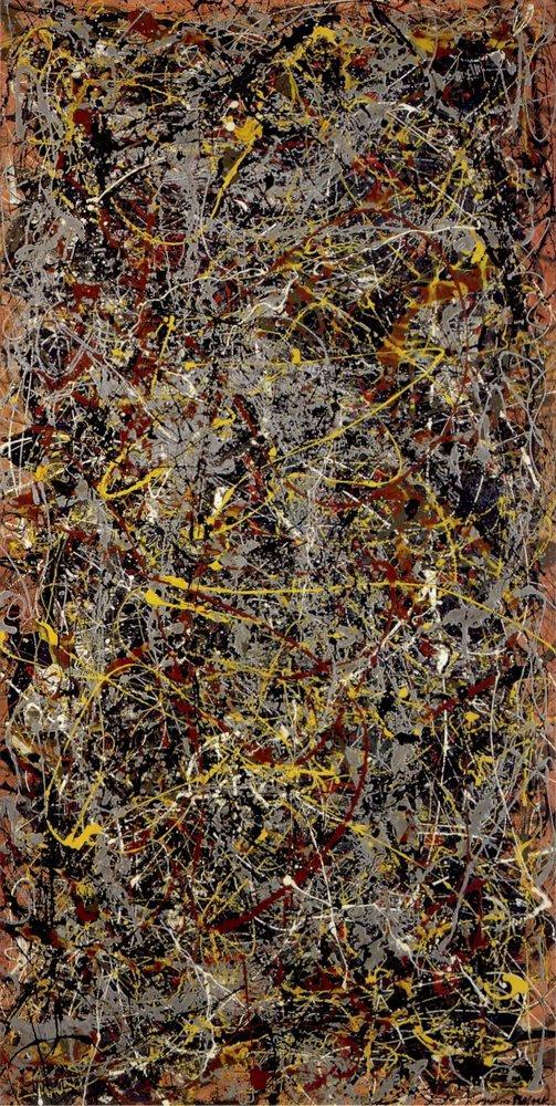 Jackson Pollock No 5, Kanvas Tablo, Jackson Pollock, kanvas tablo, canvas print sales