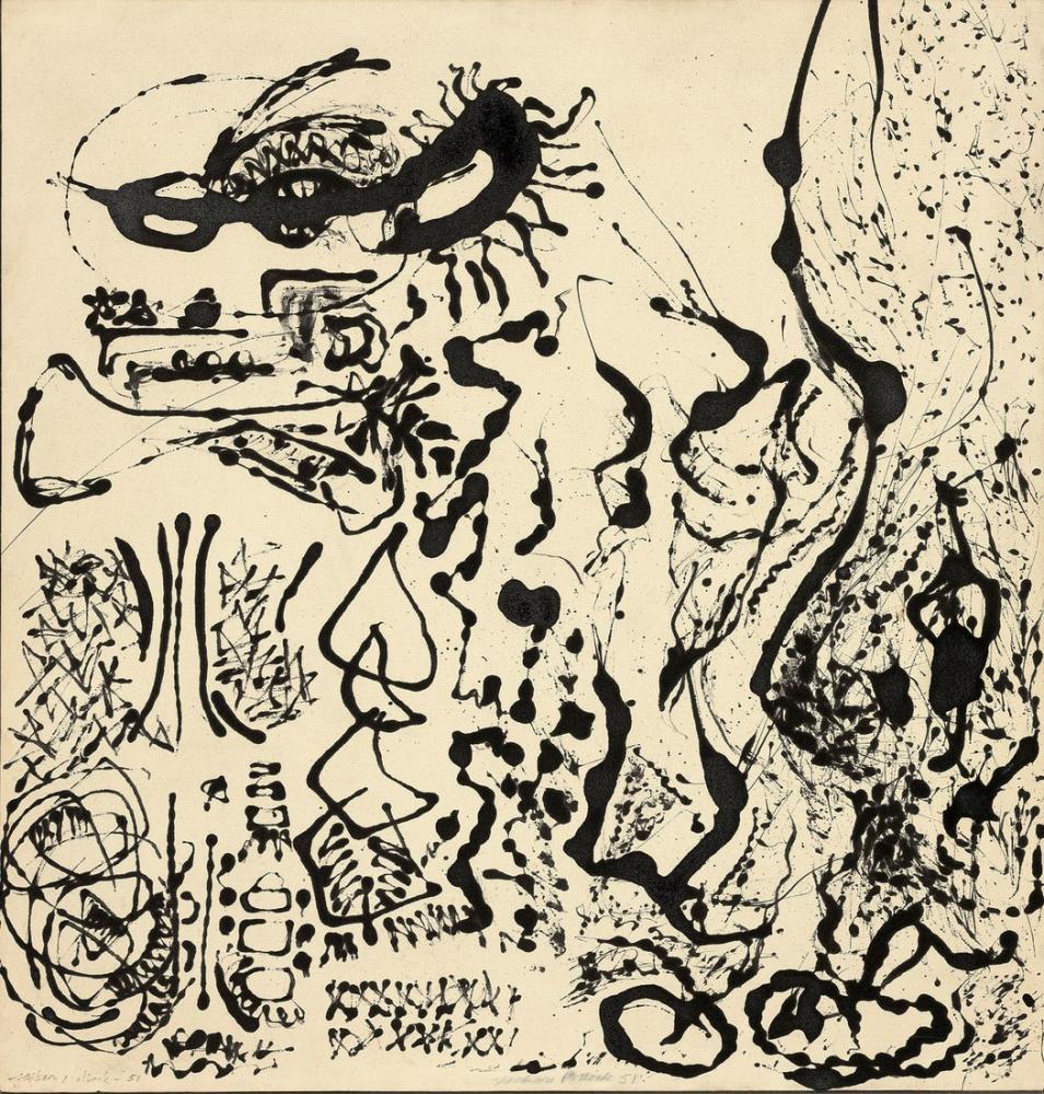 Jackson Pollock Numara 5, Kanvas Tablo, Jackson Pollock, kanvas tablo, canvas print sales