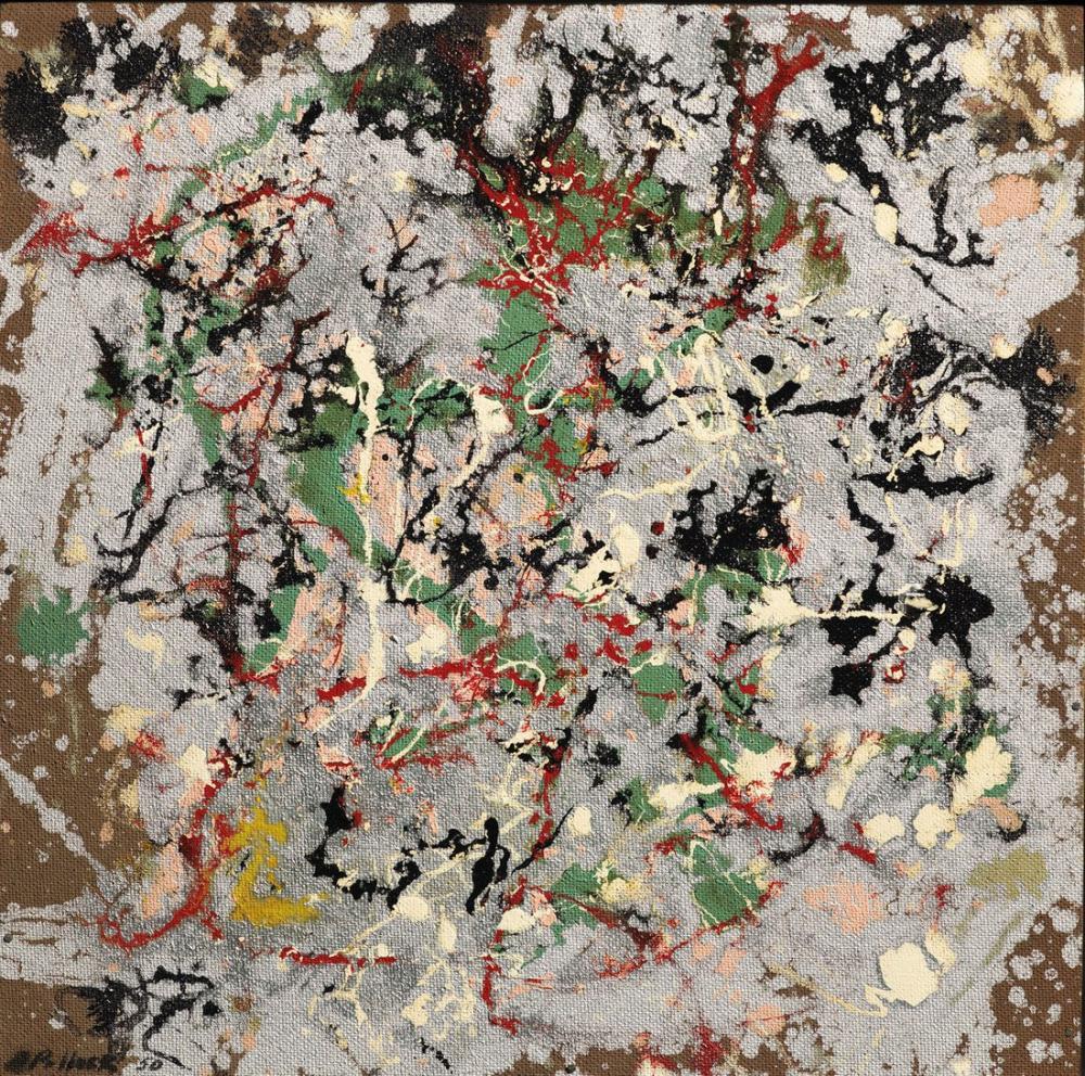 Jackson Pollock Numara 21, Kanvas Tablo, Jackson Pollock, kanvas tablo, canvas print sales