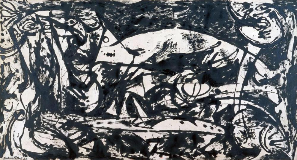 Jackson Pollock Number 14, Canvas, Jackson Pollock, kanvas tablo, canvas print sales