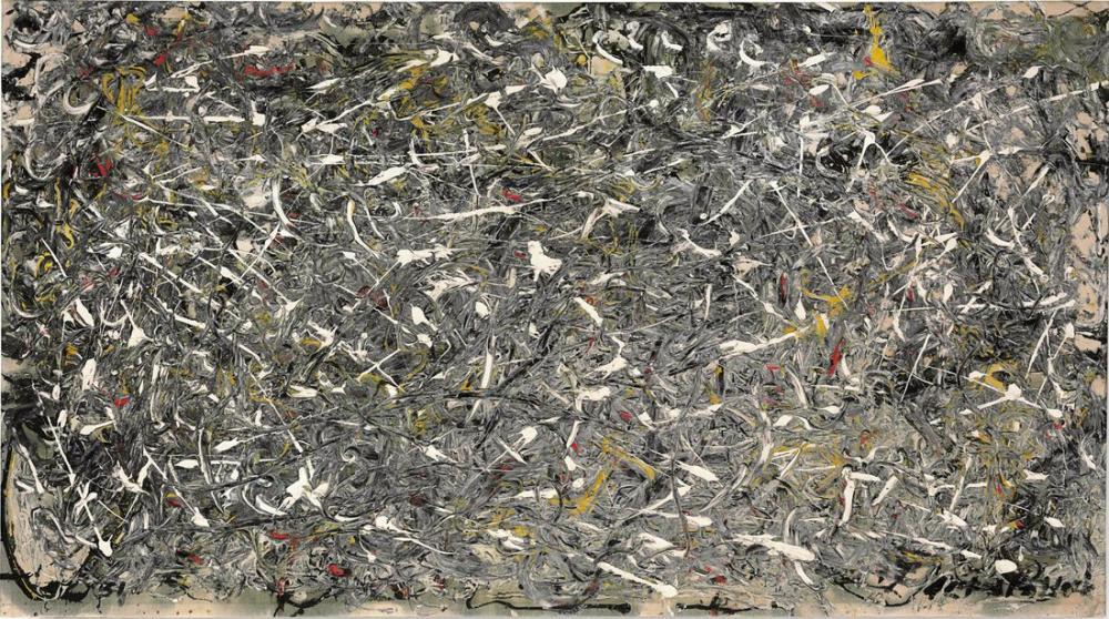 Jackson Pollock Numara 28 1951, Kanvas Tablo, Jackson Pollock, kanvas tablo, canvas print sales