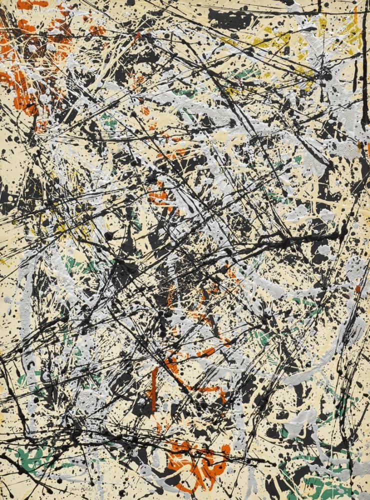 Jackson Pollock Numara 32, Kanvas Tablo, Jackson Pollock, kanvas tablo, canvas print sales