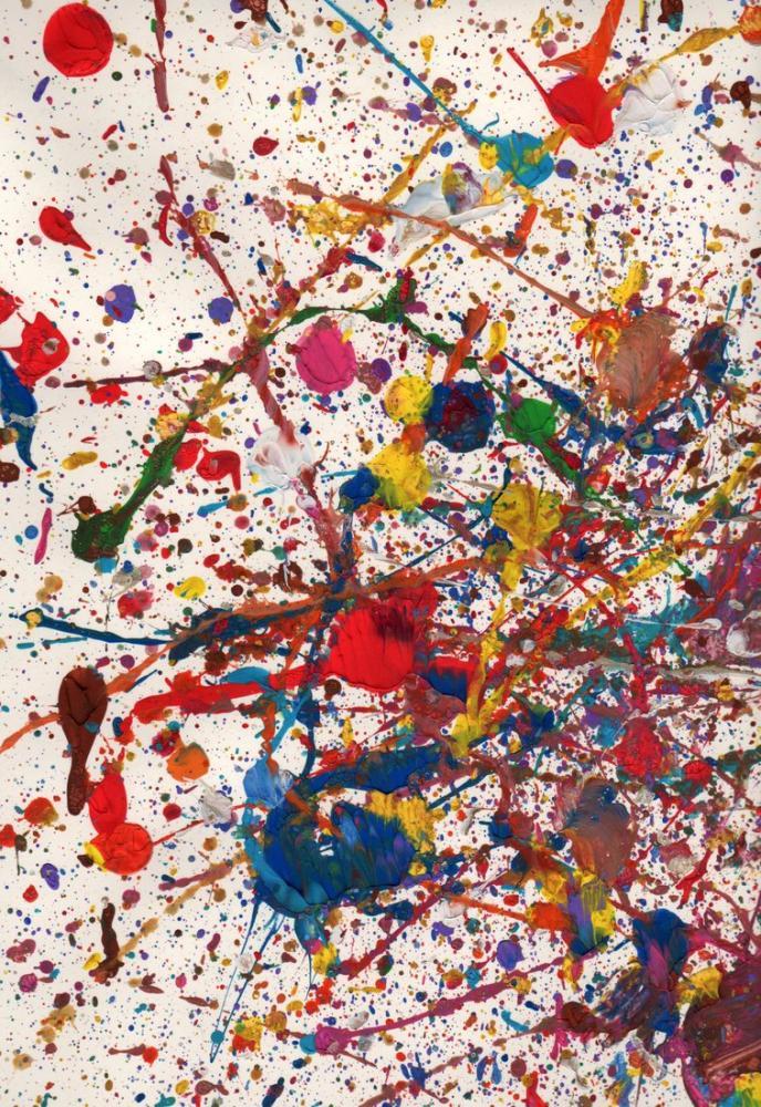 Jackson Pollock Shimmering Substance, Canvas, Jackson Pollock, kanvas tablo, canvas print sales