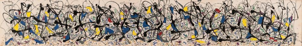 Jackson Pollock Yaz Saati 9a, Kanvas Tablo, Jackson Pollock, kanvas tablo, canvas print sales