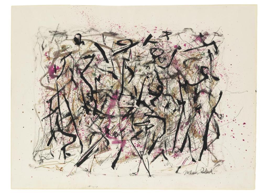 Jackson Pollock Untitled 1951, Canvas, Jackson Pollock, kanvas tablo, canvas print sales