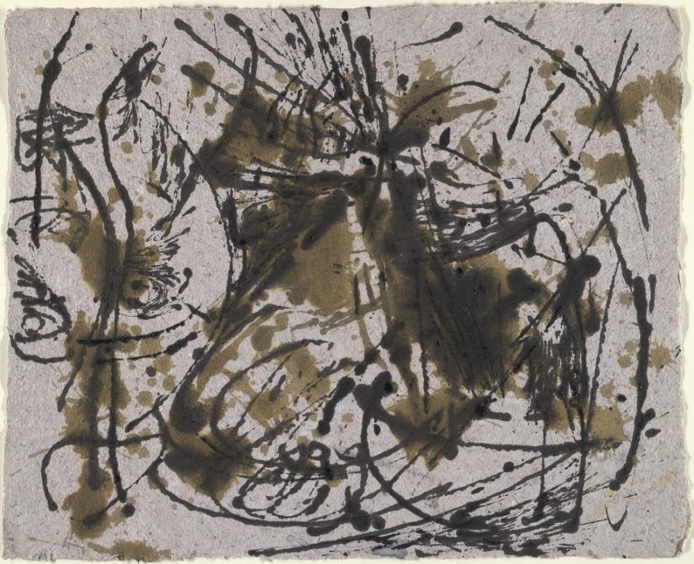 Jackson Pollock Untitled 1952, Canvas, Jackson Pollock, kanvas tablo, canvas print sales