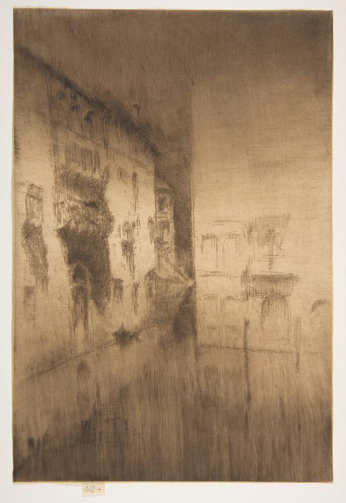 James Abbott McNeill Whistler, Saraylar Gece Manzarası, Kanvas Tablo, James Abbott McNeill Whistler, kanvas tablo, canvas print sales
