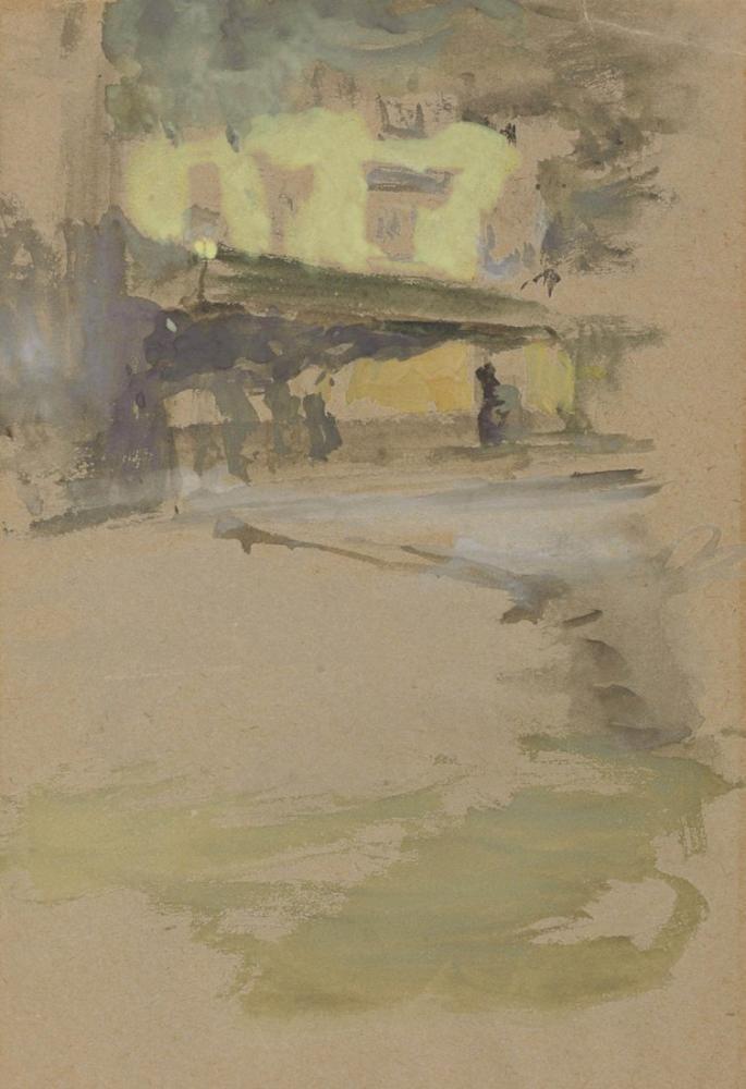 James Abbott McNeill Whistler, St Ives Cornwall daki Kamu Evi Çatı Katı, Kanvas Tablo, James Abbott McNeill Whistler, kanvas tablo, canvas print sales