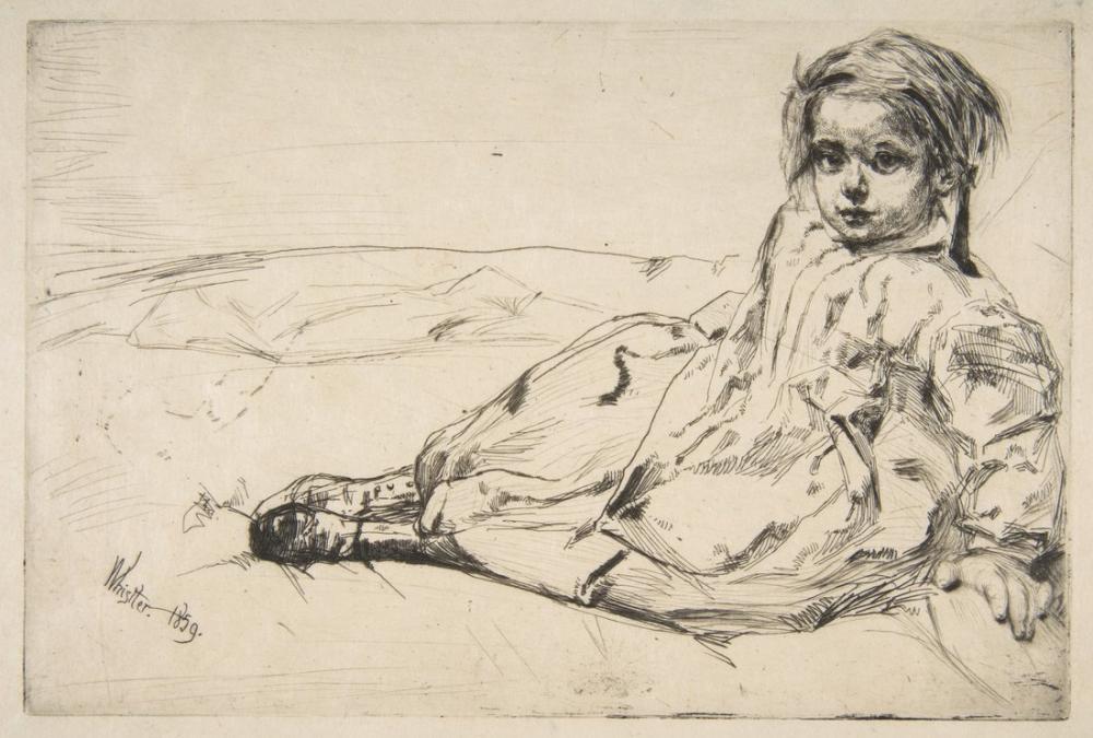 James Abbott McNeill Whistler, Bibi Valentin, Canvas, James Abbott McNeill Whistler, kanvas tablo, canvas print sales