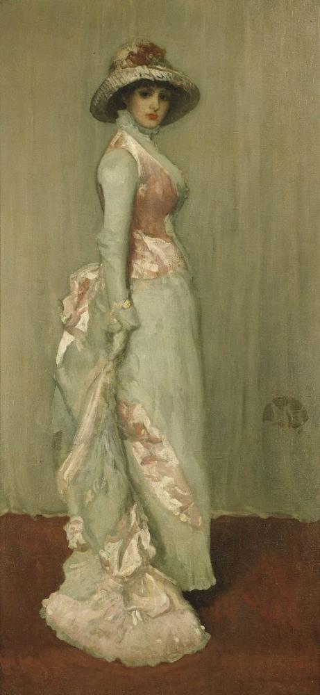 James Abbott McNeill Whistler, Lady Meux un Portresi, Kanvas Tablo, James Abbott McNeill Whistler, kanvas tablo, canvas print sales