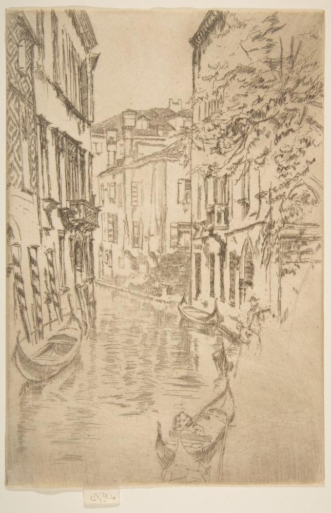 James Abbott McNeill Whistler, Quiet Canal, Canvas, James Abbott McNeill Whistler, kanvas tablo, canvas print sales