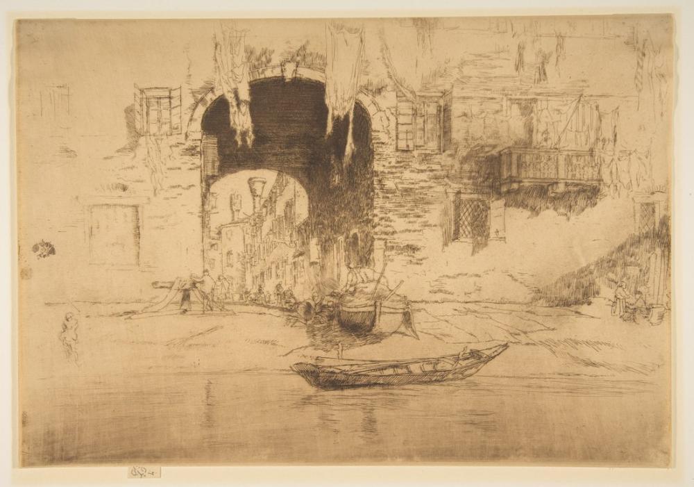 James Abbott McNeill Whistler, San Biagio, Canvas, James Abbott McNeill Whistler, kanvas tablo, canvas print sales