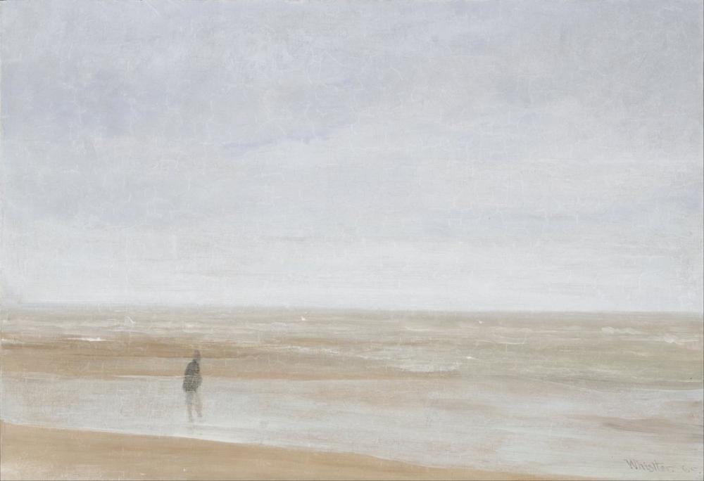 James Abbott McNeill Whistler, Sea and Rain, Canvas, James Abbott McNeill Whistler, kanvas tablo, canvas print sales
